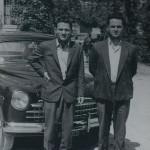 Taxisti a Reggio Emilia (Luglio 1955)